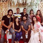 Film Director Debashish with Models